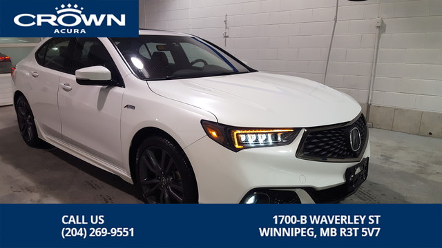 Pre-Owned 2019 Acura TLX Elite A-Spec SH-AWD **Executive Demo direct from Acura Canada** 2 Tone Red Interior**