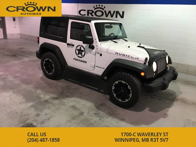 Pre-Owned 2014 Jeep Wrangler 4WD Rubicon * Soft and Hard top, Local, One Owner*