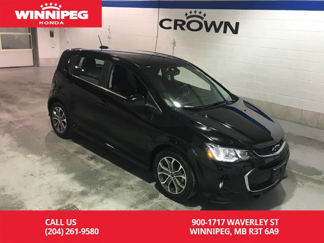 Pre-Owned 2018 Chevrolet Sonic Hatchback/LT/RS/Alloy wheels/Bluetooth/Heated seats