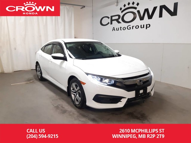 Pre-Owned 2016 Honda Civic Sedan LX/ONE OWNER/ LOW KMS/ BACK UP CAM/REMOTE START// HEATED SEATS/ REMOTE START/ BLUETOOTH/ ECON MODE/HEATED SEATS
