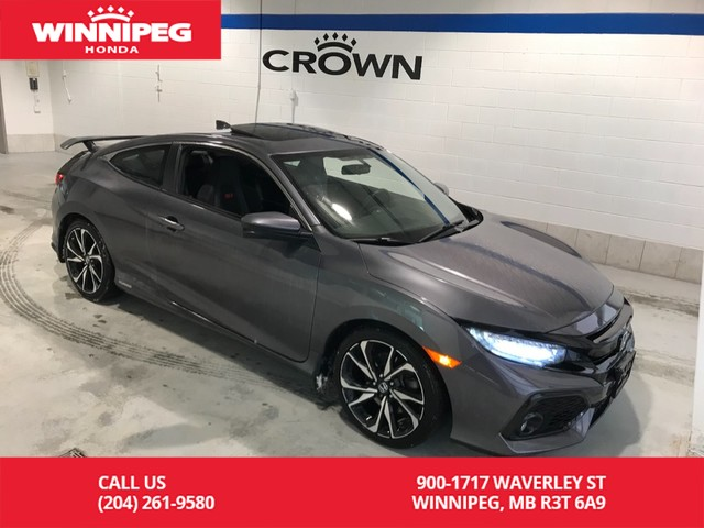 Pre-Owned 2017 Honda Civic Coupe Si/One owner/Lease return/Accident free/Bluetooth/Navigation