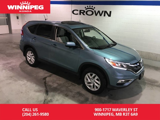 Pre-Owned 2016 Honda CR-V Certified/EX/Bluetooth/Sunroof/Heated seats