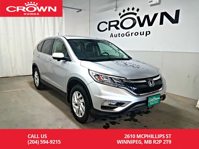 Pre-Owned 2016 Honda CR-V AWD 5dr EX-L/ACCIDENT-FREE HISTORY/ ONE OWNER/LOW KMS/ PUSH START/HEATED SEATS/SUNROOF/BACK UP CAMERA