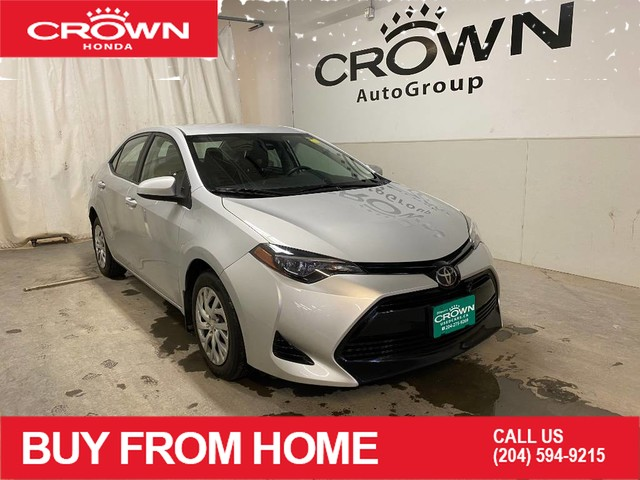 Pre-Owned 2017 Toyota Corolla LE/ ONE OWNER/ LOW KMS/ BACKUP CAMERA/ BLUETOOTH/