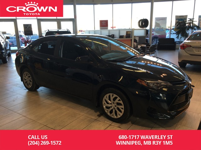 New 2019 Toyota Corolla Le Cvt Sedan In Winnipeg 239015 Crown Toyota