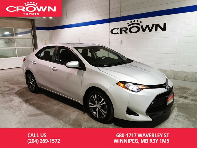 Certified Pre-Owned 2017 Toyota Corolla LE Upgrade Pkg / Crown Original / Lease Return / Low Kms / Great Condition