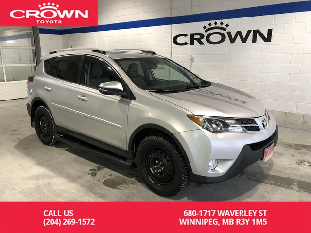 Certified Pre-Owned 2015 Toyota RAV4 Limited AWD Tech Package / Top Trim Level / Local / One Owner / Great Condition / Unbeatable Value