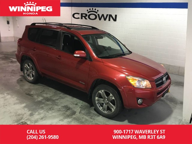 Pre-Owned 2010 Toyota RAV4 4WD/Sport/Cruise/Air/Alloy wheels