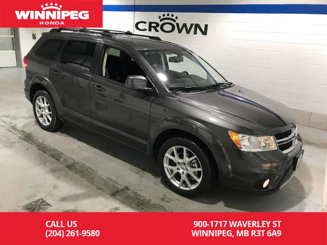 Pre Owned 2017 Dodge Journey Awd Sxt Accident Free Super Low Kilometres