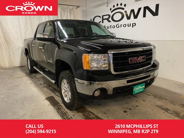 Pre-Owned 2013 GMC Sierra 1500 4WD Crew Cab 143.5 SLE/ KEYLESS ENTRY/ BLUETOOTH/ CD/MP3 PLAYER