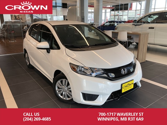 Pre-Owned 2016 Honda Fit LX Hatchback 6 Speed *Bluetooth/Heated Seats*