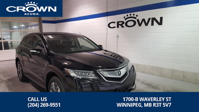 Certified Pre-Owned 2016 Acura RDX ELITE Package ** 1 Owner Lease Return ** Includes No Charge Extended Warranty**