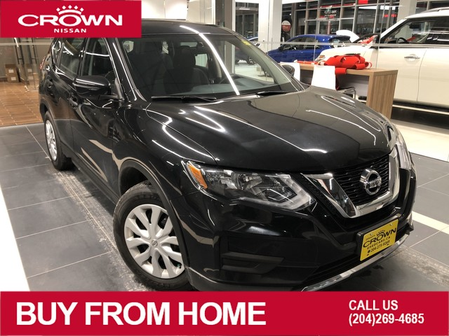 Pre-Owned 2017 Nissan Rogue S FWD *Heated Seats/Backup Camera/Accident Free*