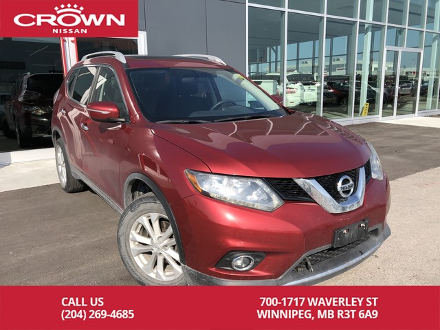 Pre-Owned 2014 Nissan Rogue SV Moonroof AWD *Bluetooth/Local Trade*