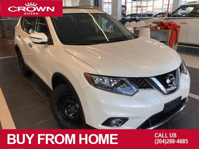 Pre-Owned 2016 Nissan Rogue SV Moonroof AWD *Heated Seats/Winter Tires/Remote Start*