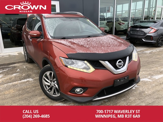 Pre-Owned 2015 Nissan Rogue SL AWD *Bluetooth/Remote Start/Backup Camera*