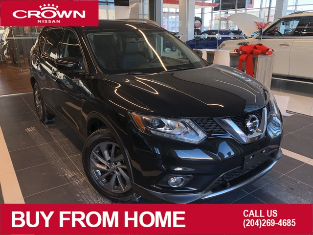 Pre-Owned 2016 Nissan Rogue SL AWD *Leather/Moonroof/Crown Original*