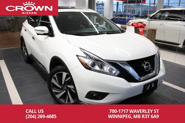 Pre-Owned 2017 Nissan Murano Platinum AWD *Bluetooth/360 Backup Camera/Remote Start*