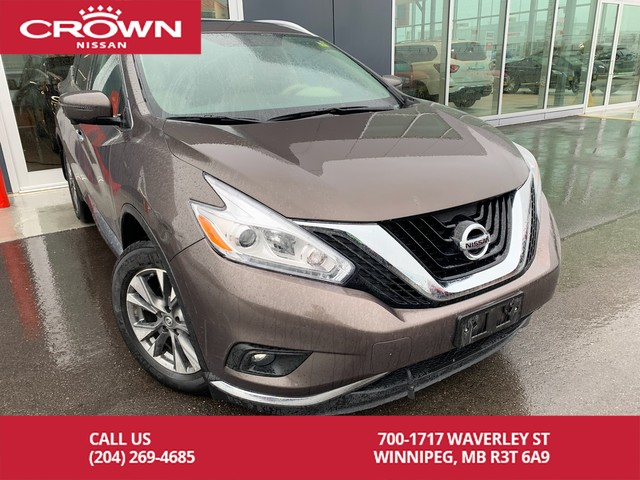Pre-Owned 2017 Nissan Murano SL AWD *Accident Free/Navi/360 Backup Cam*