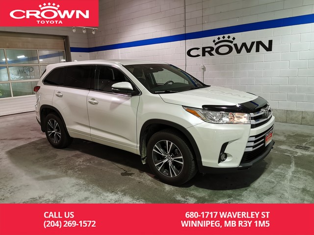 Toyota Highlander 2017 Lease >> Certified Pre Owned 2017 Toyota Highlander Le Awd Convenience Pkg Crown Original Clean Carproof Lease Return Low Kms