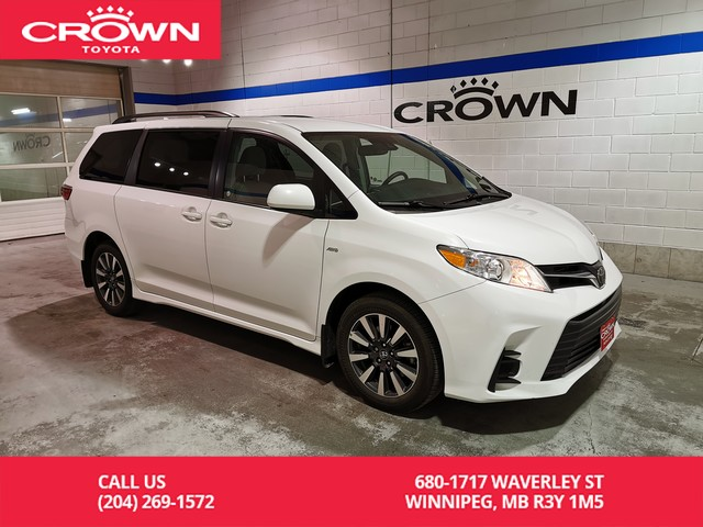 Certified Pre-Owned 2018 Toyota Sienna LE AWD / Accident Free / Great Value