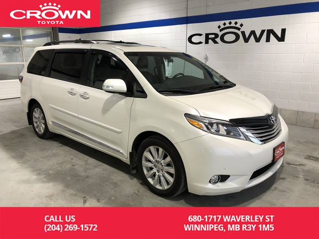 Certified Pre Owned 2017 Toyota Sienna Limited 7 P Fwd Lease Return