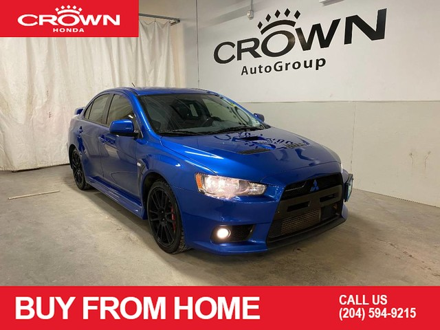 Pre-Owned 2012 Mitsubishi Lancer Evolution 4dr Sdn GSR/ ONE OWNER/ LOW KMS/ RECARO FRONT SEATS/ BREMBO BRAKES