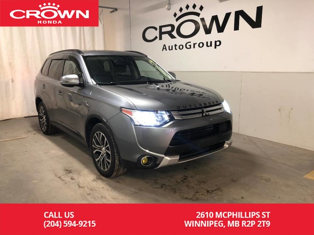 Pre-Owned 2015 Mitsubishi Outlander 4WD 4dr SE/ BLUETOOTH/ BACKUP CAMERA/ HEATED FRONT SEATS