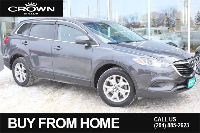 Pre-Owned 2015 Mazda CX-9 AWD GS**Serviced Here/V6 Engine**