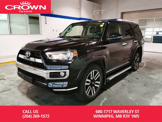 Certified Pre-Owned 2017 Toyota 4Runner Limited 4WD 7 Pass / Local / Low Kms / Great Condition