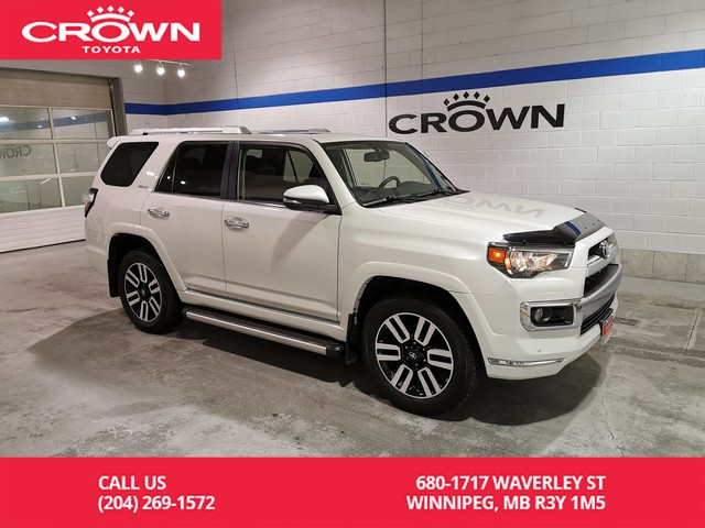 Certified Pre-Owned 2018 Toyota 4Runner Limited 4WD 7 Pass / Crown Original / Clean Carproof / Great Val