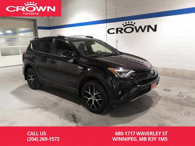 Certified Pre Owned 2017 Toyota Rav4 Hybrid Se Awd Clean Carproof Local