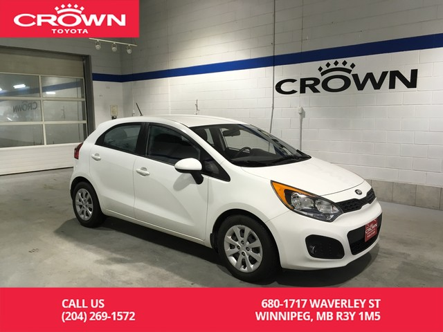 Pre-Owned 2013 Kia Rio 5dr HB Auto LX+ / One Owner / Local / Great Value