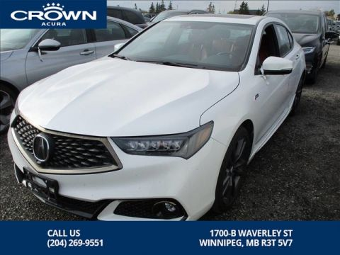 Pre-Owned 2019 Acura TLX Elite A-Spec **Executive Demo direct from Acura Canada** 2 Tone Red Interior**