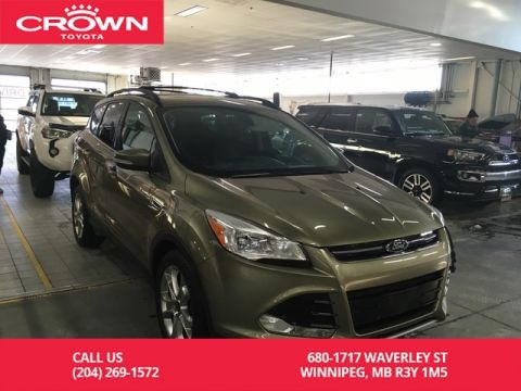 Pre-Owned 2013 Ford Escape SEL 4WD / Tech Pkg / Navigation Pkg / One Owner / Local / Leather