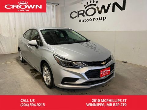 Pre-Owned 2018 Chevrolet Cruze 4dr Sdn 1.4L LT w/1SD/ ONE OWNER/ KEYLESS ENTRY/ HEATED FRONT SEATS/ APPLE CARPLAY AND ANDROID AUTO