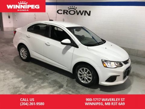 Pre-Owned 2017 Chevrolet Sonic LT/Low KM/Economical/Great city car