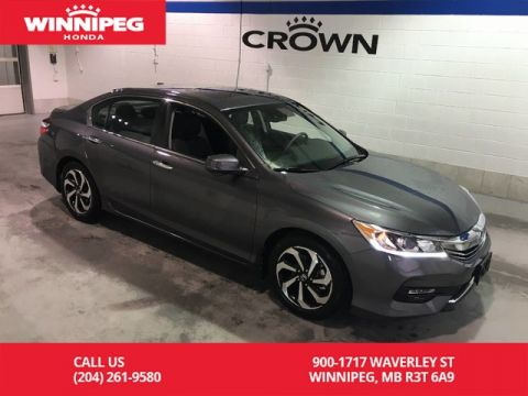 Certified Pre-Owned 2016 Honda Accord Sedan Certified/EX-L/Sunroof/Heated seats/Rear view camera