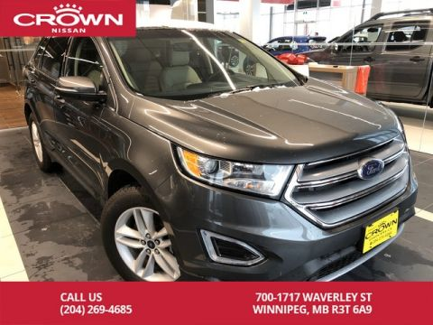 Pre-Owned 2017 Ford Edge SEL AWD V6 *Accident Free/Navi/Remote Starter/Leather*