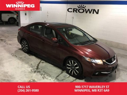 Pre-Owned 2013 Honda Civic Sdn Touring/Sunroof/Leather/#1 selling car in Canada