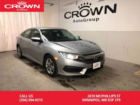 Pre-Owned 2017 Honda Civic Sedan 4dr CVT LX/ ONE OWNER/ BACKUP CAMERA/ APPLE & ANDROID AUTO/