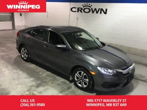 Certified Pre-Owned 2018 Honda Civic Sedan LX/Certified/Bluetooth/Heated seats/Rear view camera