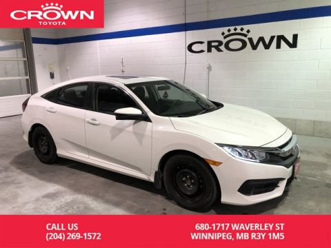 Pre-Owned 2016 Honda Civic Sedan EX / Lease Return / Apple Carplay & Android Auto / Side View Camera / Low Kms