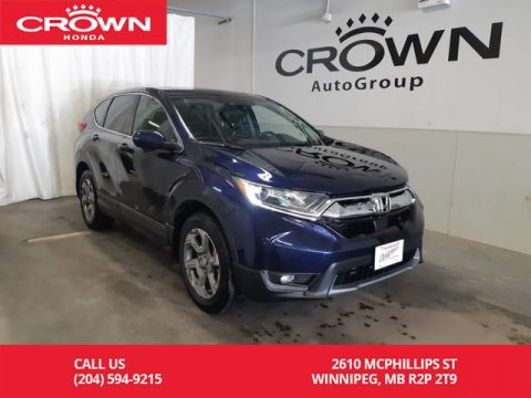 Certified Pre-Owned 2018 Honda CR-V EX/ ONE OWNER LEASE RETURN/ LOW KMS/ BACK UP CAM/ BLUETOOTH/ HEATED SEATS/ ECON MODE/PUSH START/ SUNROOF