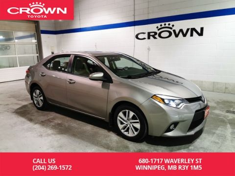 Pre-Owned 2014 Toyota Corolla LE ECO Technology Pkg / Crown Original / Lease Return / Navigation / Great Value