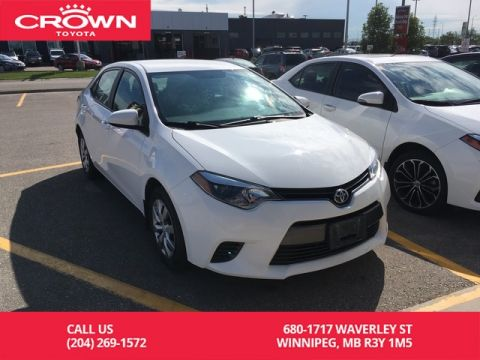Pre-Owned 2016 Toyota Corolla LE / Crown Original / Clean Carproof / Great Service History