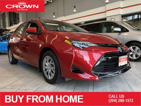 Certified Pre-Owned 2018 Toyota Corolla | Crown Original | Local Trade | One Owner | LE | CVT