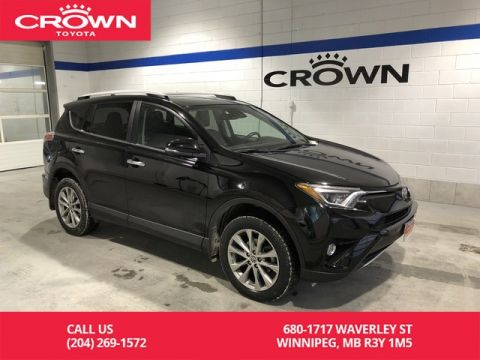 Certified Pre-Owned 2016 Toyota RAV4 Limited AWD / One Owner / Manitoba Vehicle / Highway Kms / Great Condition