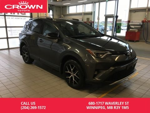 Pre-Owned 2016 Toyota RAV4 SE AWD / Accident Free / Clean Carproof / Lease Return / Leather