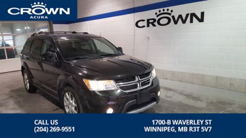 Pre-Owned 2013 Dodge Journey Crew ** Heated Seats** Remote Starter** V6**